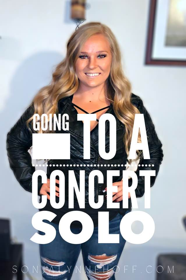 Going to a Concert Solo